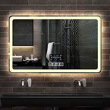 badezimmerspiegel badezimmer led licht spiegel badezimmer