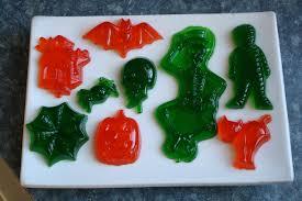 Halloween Jello Molds by Autumn Food U0026 Sugar Free Jello Halloween Gummies Laura Irrgang