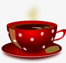 Red Coffee Cup Clipart Mug PNG Image And