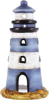de heitmann deco windlicht leuchtturm aus keramik