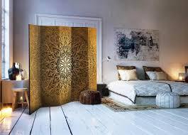 neuheit dekorativer paravent raumteiler trennwand foto paravent spanische wand mandala ornament 225x172 cm f a 0491 z c