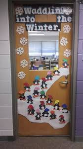 Winter Classroom Door Decoration Ideas