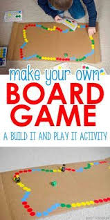 C Is For Crafty Homeade Pirate Board Game AWESOME