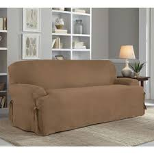 Bed Bath Beyond Sofa Covers by Buy Taupe Sofa Slipcovers From Bed Bath U0026 Beyond
