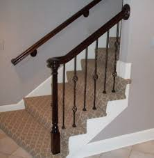 Replacement Staircase And Spindles - KC Wood Are You Looking For A New Look Your Home But Dont Know Where Replace Banister Neauiccom Replacing Half Wall With Wrought Iron Balusters Angela East Remodelaholic Stair Renovation Using Existing Newel Fresh Best Railing Replacement 16843 Heath Stairworks Servicescomplete Removal Of Old Railing Staircase Remodel From Mc Trim Removal Carpet Home Design By Larizza Chaing Your Wood To On Fancy Stunning Styles 556
