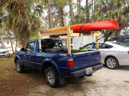 100 Pickup Truck Kayak Rack I Built A Simple Inexpensive Rack To Carry My Ing