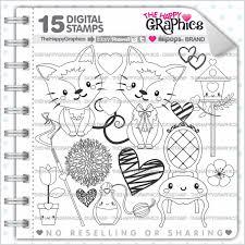Cat Stamp 80OFF Commercial Use Digi Digital Image
