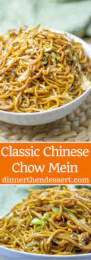 Classic Chinese Chow Mein With Authentic Ingredients And Easy Ingredient Swaps To Make This A Pantry