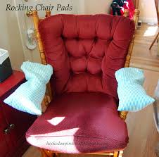 Hooked On Pinterest: Rocking Chair Arm Pads