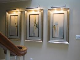 best lighting for paintings on the walls 26 in brass effect wall