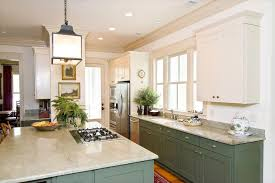 Shutterstock 45342838 This Bright And Airy Kitchen Features Green