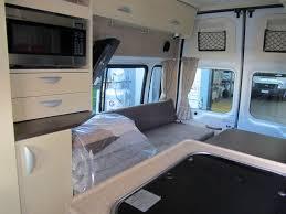 Inside Of The Campervan