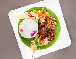 cha e cuisine khao chae royal summer cuisine stock photo image of dish