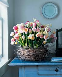 Easter And Spring Centerpieces