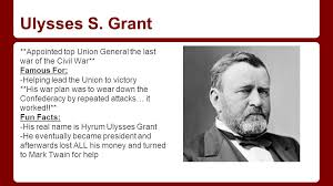 Rick Brutti On Twitter Ulysses S Grant Died 133 Years Ago Today