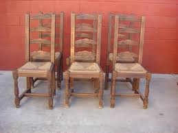 Amazing Dining Chairs Antique Rustic Ideas Distressed Regarding Wood Attractive