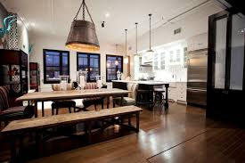 Industrial Home Decor Amusing Rustic Kitchen Designs To Decorate Your Intended For Office Wall