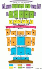 Detroit Opera House Seat Chart