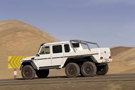 100 Mercedes 6 Wheel Truck Benz G 3 AMG Pickup Truck In Full Disclosure