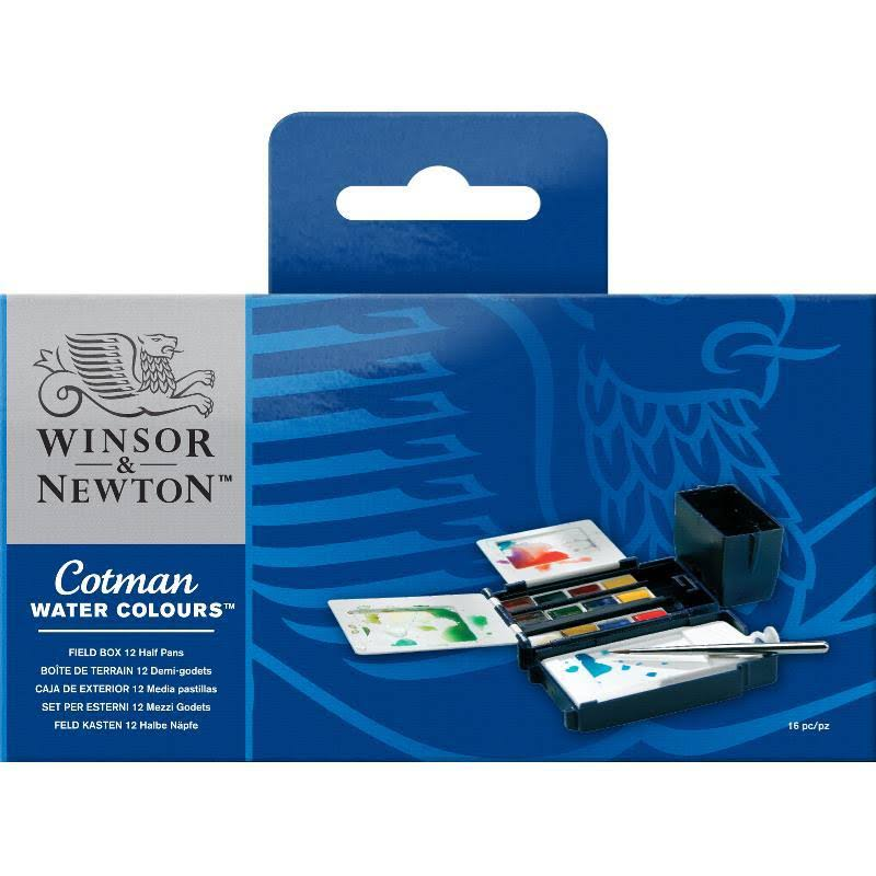 Winsor & Newton Cotman Field Box Watercolor Set