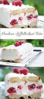 himbeertraum geniale kühlschrank torte mit himbeeren