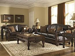 Living Room Sets Ashley Furniture On Pertaining To Amazon North Shore Set By 7