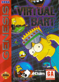 Virtual Bart Box Shot for Genesis GameFAQs
