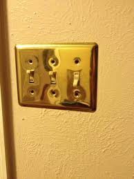Spray Painting Light Switch Covers
