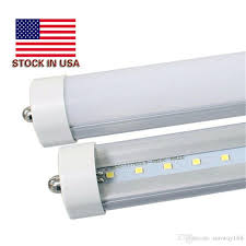 8 foot led bulb light t8 8ft led single pin fa8 45w smd2835 100lm