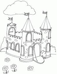 Windows Coloring Disney Castle Pages About