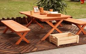 space dining room cool round diy picnic table wood plans hampedia