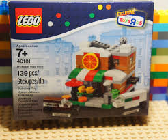 LEGO 40181 BRICKTOBER PIZZA PLACE Toys R Us Boxed Set Mini Modular ... Review Toys R Us Bricktober 2015 Buildings Lego City Truck 7848 Buying Pinterest Lego Itructions Picrue Excavator And 60075 Toysrus Lego Track Top Legos City Toys Shop 4100 Pclick Uk Exclusive Brand New Cdition Amazoncom Year 2012 Series Set Us Truck Flickr Toy Store Tired 100 Complete Diy Book 2 Youtube