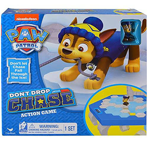Nickelodeon Paw Patrol Don't Drop Chase Family Action Board Game