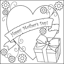 Mothers Day Coloring Pages 2