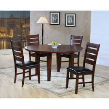 Round Dining Room Sets With Leaf by 1 148 00 Ameillia 5 Pc 60