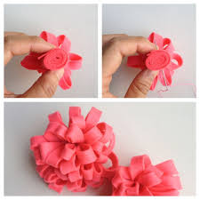 How To Make Handmade Flowers From Paper And Fabric