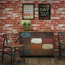Faux Brick Panels Rustic