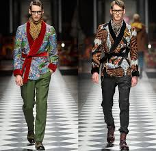 Stella Jean 2014 2015 Fall Autumn Winter Mens Runway Looks Fashion
