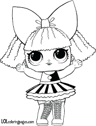 Lol Coloring Pages Pets Series 3 Free Page Surprise Doll