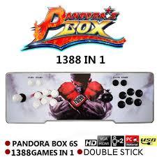 100 Spikes Game Zone Truck Mania 1388 In 1 Video Arcade Console Pandora Retro Box 6S Plug And