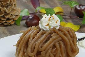cuisiner des marrons frais torche aux marrons ou mont blanc la cuisine d adeline