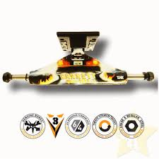100 Lightest Skateboard Trucks Theeve TiAX Garrett Hill Back To The Future Pro