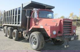 100 12 Yard Dump Truck 1973 Mack DM800 Dump Truck Item C5166 SOLD November 29