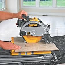 Skil Tile Saw 3550 02 by Dewalt D24000 1 5 Horsepower 10 Inch Wet Tile Saw Amazon Ca