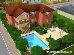 Sims 3 Floor Plans Download by My First The Sims 3 House The Sims Fan Page