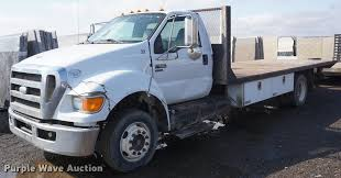 2009 Ford F650 Super Duty Flatbed Truck | Item DF1534 | SOLD...