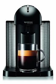 Amazon Nespresso VertuoLine Coffee And Espresso Maker With Aeroccino Plus Milk Frother Black Discontinued Model Kitchen Dining