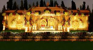 Nice Simple Themes Ideas Outdoor Wedding Stage Decoration Modern Indian Ceremony With
