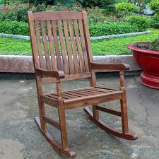 International Caravan Highland Porch Rocking Chair
