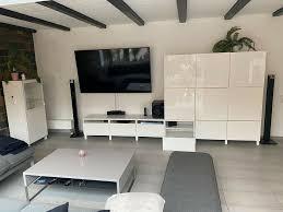 ikea besta wohnzimmer schränken vitrine tv board